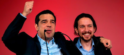 Podemos, Syriza, Pensiones, Grecia, Jubilados, Pensiones