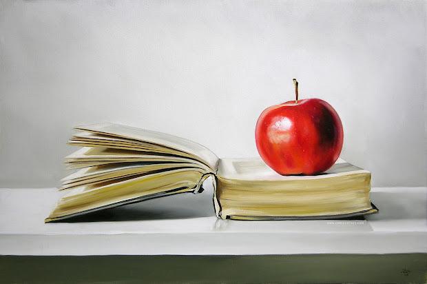 Teacher Apple and Books