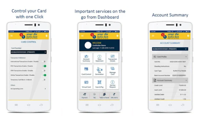AB Credit Card Mobile App