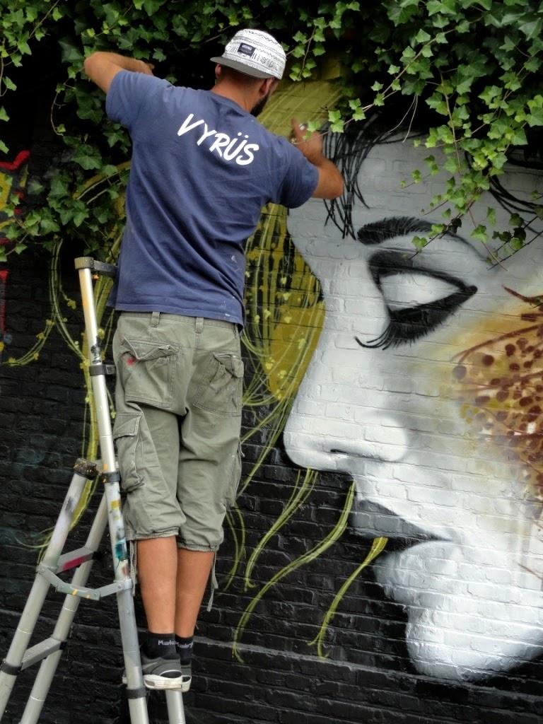 vyrus graffiti