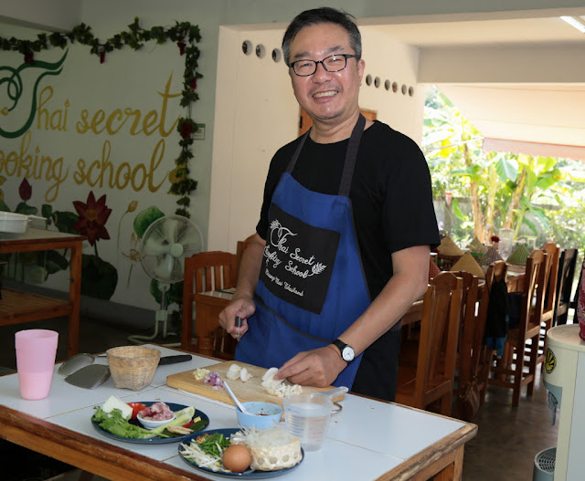 Thai Secret Cooking Class. Chiang Mai, Thailand. October 9th 2018
