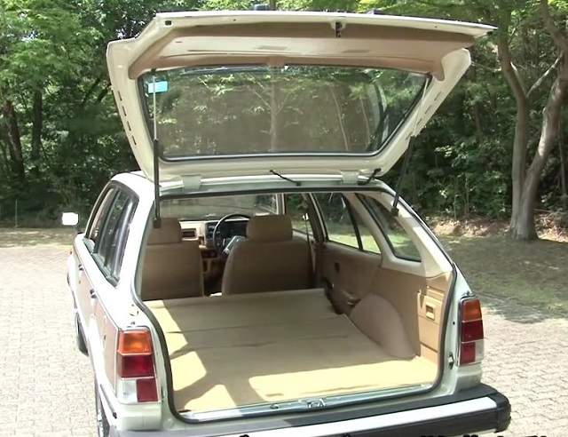 Honda Civic Country Station Wagon Rear Trunk Door