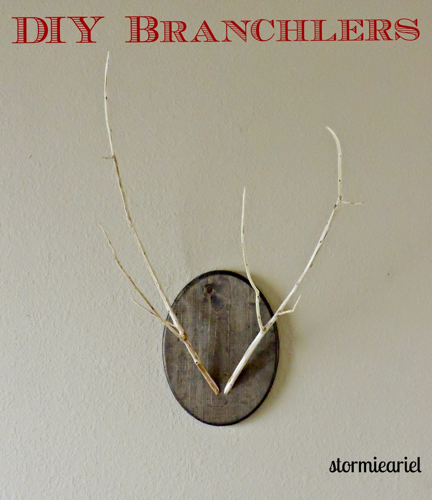 DIY Branchlers
