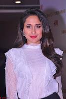 Pragya Jaiswal in lovely Black Mini Skirt and White Transparent Shirt ~  Exclusive 032.JPG