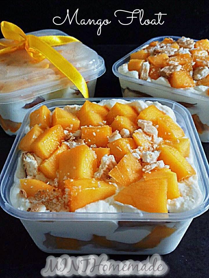 Resepi Mango Cheese Float