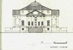 villa rotonda drawings renaissance baroque plan architecture portfolio