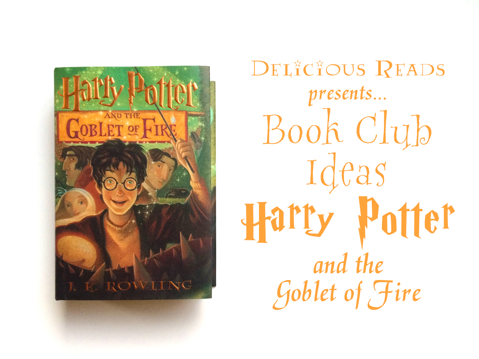 Harry Potter Book Club : Author robin king harry potter the goblet of fire