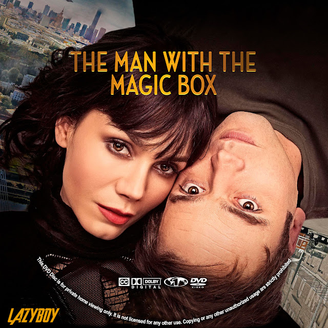 The Man With the Magic Box DVD Label