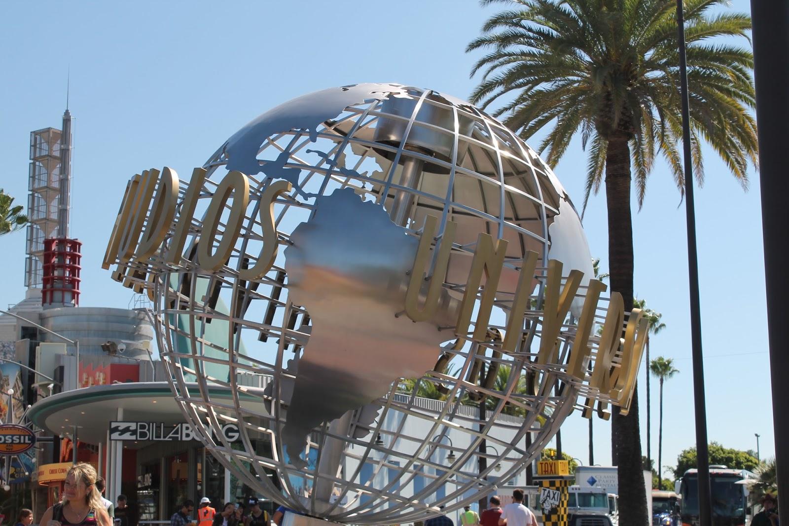USA états unis amérique vacance transat roadtrip ouest américain universal studios boule planete