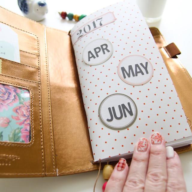 Patricia Roebuck, TN, Traveler Notebook, Modern Memory Keeping