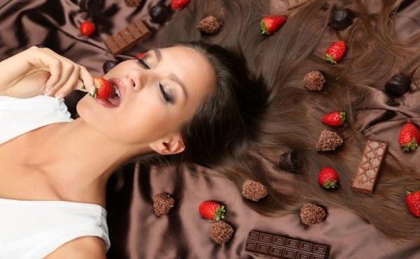 Alisamento Natural com Chocolate em pó