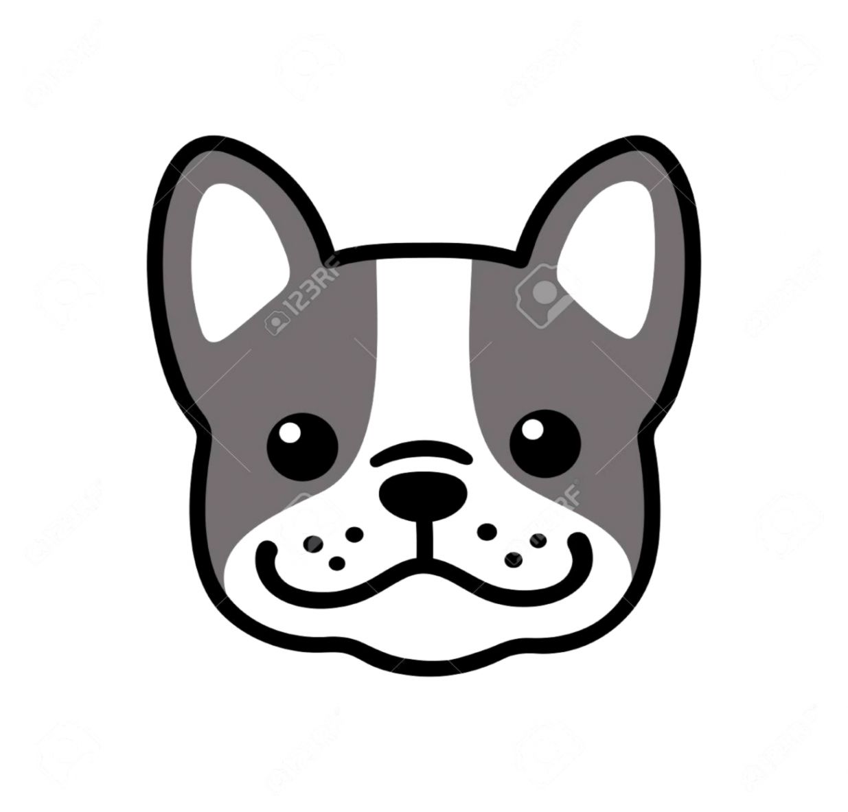 Cute Dog Face Drawing Wallpapers Engine