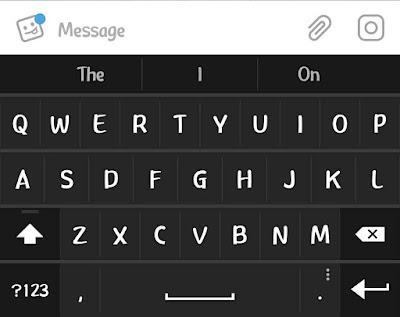 Aplikasi-aplikasi keyboard android yang mudah di gunakan
