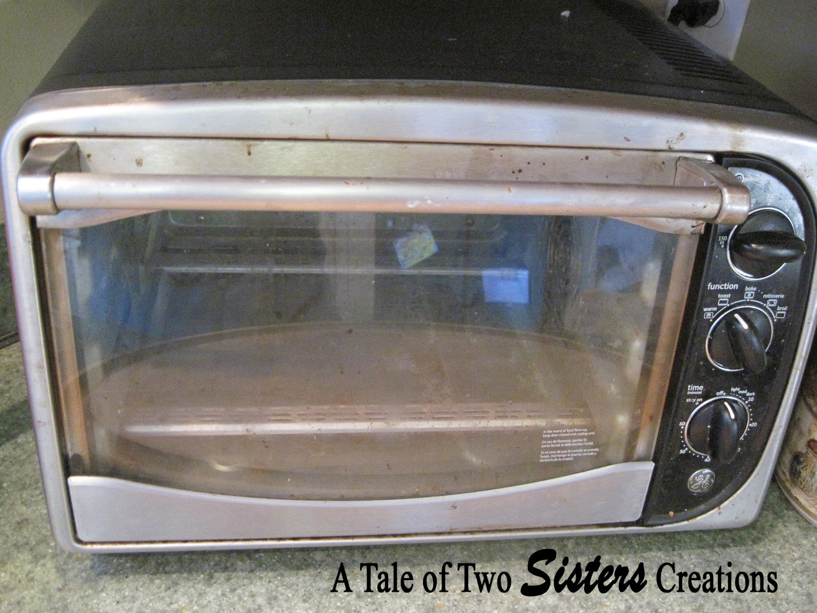 A Tale of Two Sisters Creations How to Clean Toaster Oven and
