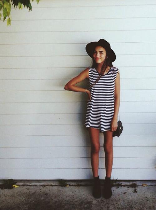 look casual con vestidos de moda