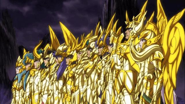 gold saints adalah seiya terkuat dengan jubah emas