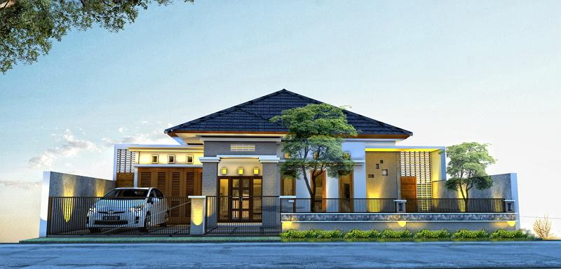 Desain Rumah Pati Karya Pramana Sigit