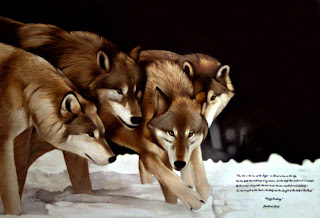 4-wolfs-oil-painting
