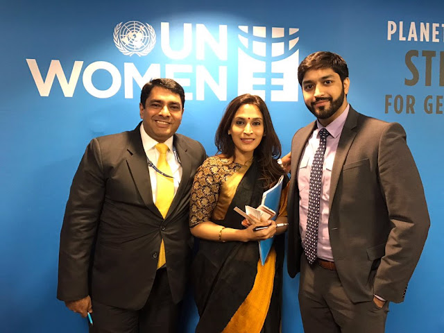 Aishwarya Dhanush With Phumzile Mlambo At UNWomen | YoungWomenLeaserShip | Youth4GenderEquality