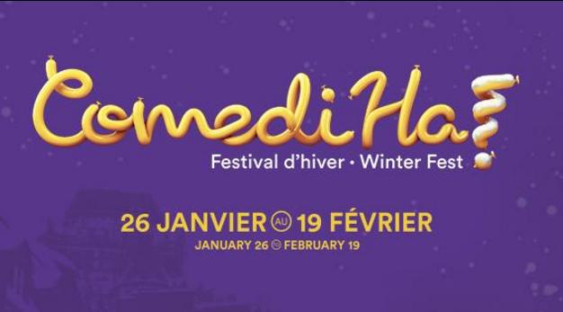 Rire un bon coup au Festival d'hiver ComediHa!