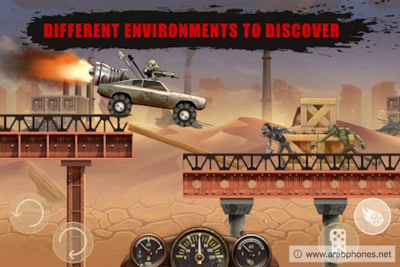 تحميل لعبة zombie hill racing مهكرة اخر اصدار apk