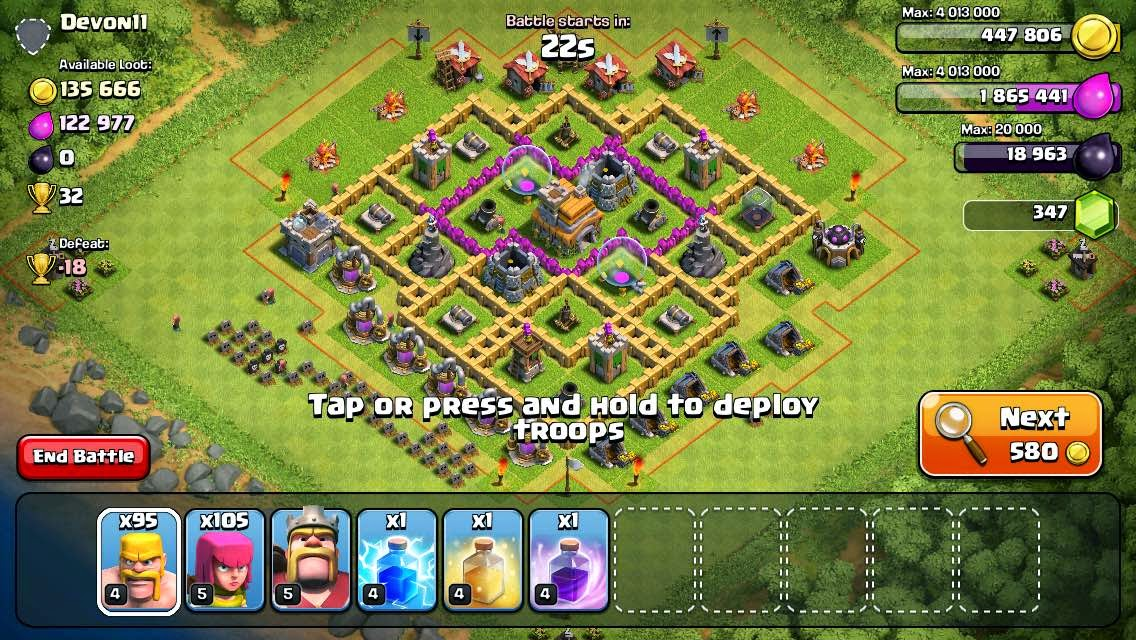 A great looking base to Barch (Notice the gravestones)