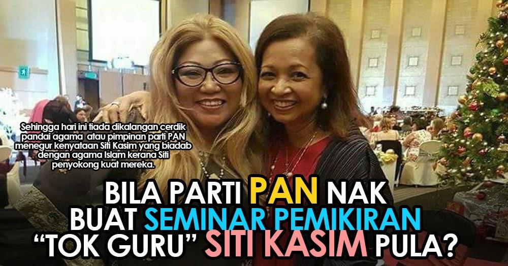 Hassan Omar Bila Parti Pan Nak Buat Seminar Pemikiran Tok Guru Siti Kasim Pula