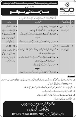 Headquarter Special Communications Organization Jobs