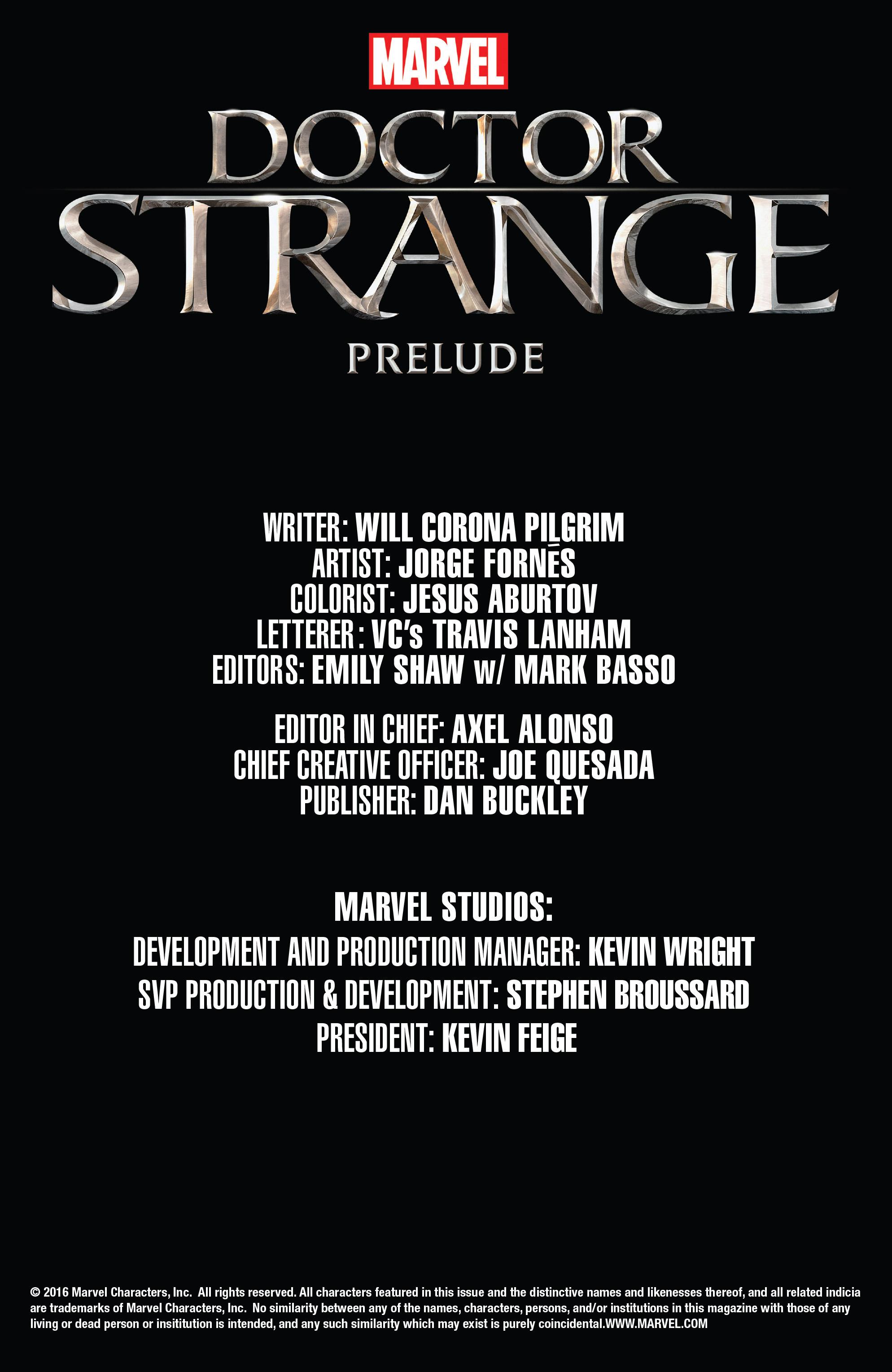 Doctor Strange Prelude kỳ 1 trang 20