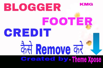 how to remove templateism footer credit link