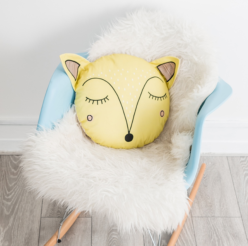 Giveaway | Win A Sleepy Fawn Cushion From My Lovely Little Den ♥