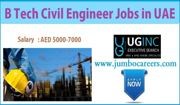Company jobs in Sharjah, Civil engineer job openings in UAE,