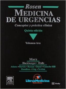 Rosen Medicina de Urgencias Vol 1, 2 y 3 - John A. Marx