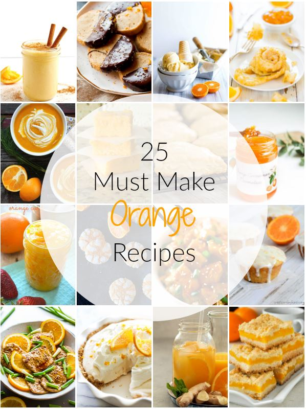 25 Must Make Orange Recipes | Ioanna's Notebook