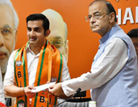 Ex-Cricketer Gautam Gambhir Joins BJP