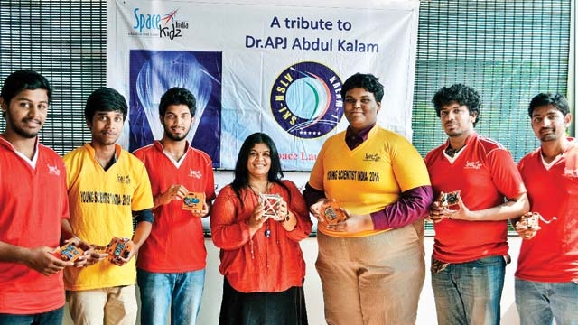 Worlds Lightest Satellite Designed By 7 Indian Teenagers
