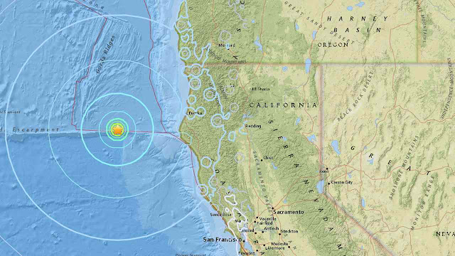 California Rocked by Three Earthquakes in One Day
