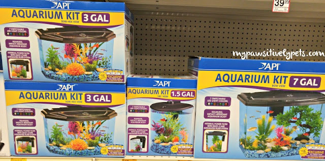 API Fishcare Aquarium Kits at PetSmart #APIfish