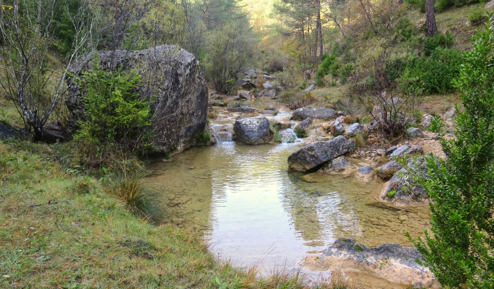 campdevanol,torrent de la cabana, els set gorgs- estiula