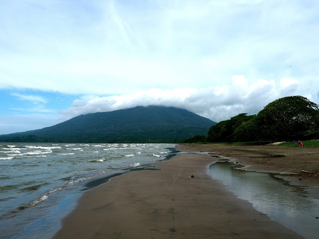 Santa Domingo beach, Ometepe Island, Nicaragua