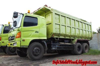 Dump truk keren hino lohan