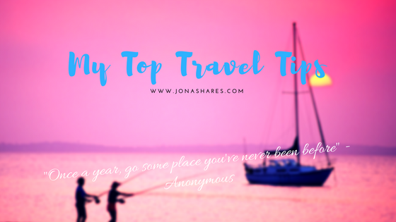 My Top Travel Tips