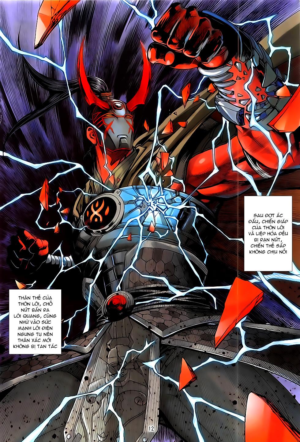 Chiến Phổ chap 19 - Trang 12
