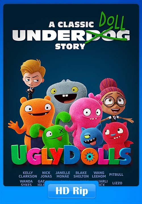 UglyDolls 2019 720p WEBRip x264 | 480p 300MB | 100MB HEVC Poster