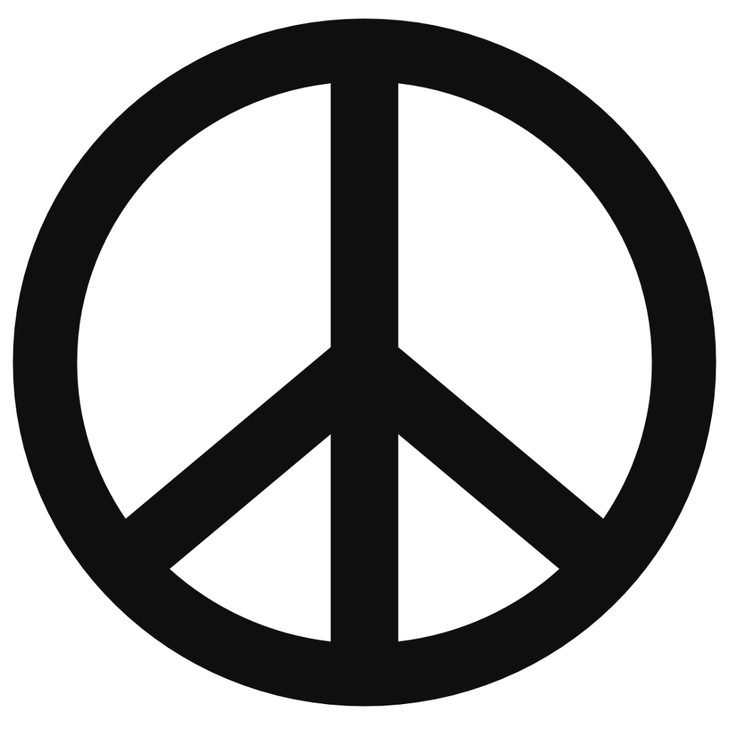 Peace Sign Coloring Page (50 Images) - Class Room Teacher