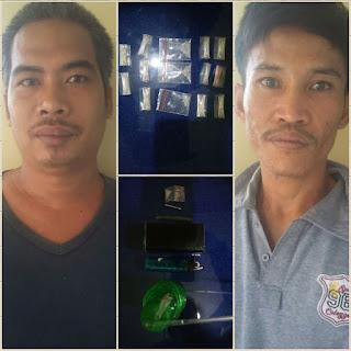 Miliki Narkoba, 2 Warga Babat Toman Diringkus Kepolisian
