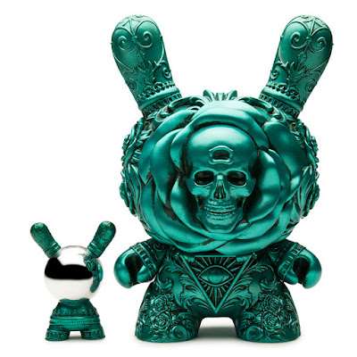 "Retailer Exclusive Teal Edition The Clairvoyant Dunny 8"" Vinyl Figure by J*RYU x Kidrobot"