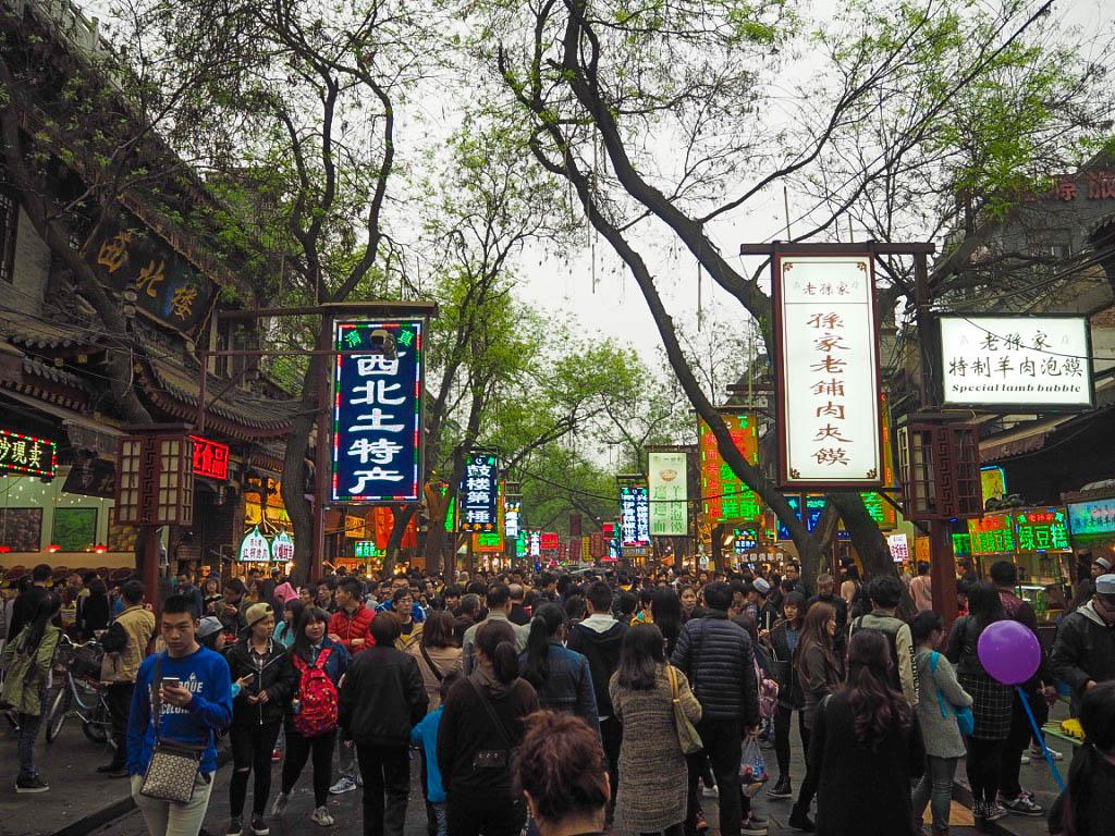 Muslim Quarter market, Xi'an