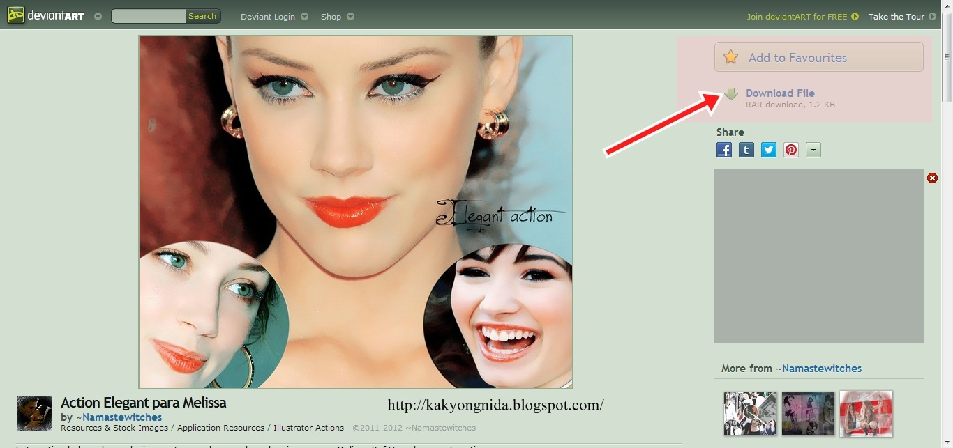 **Nida Husna**: tutorial cara edit gambar guna photoshop ...