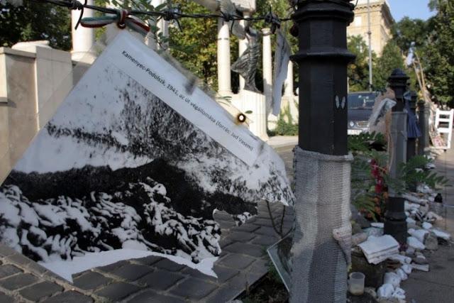 Budapest 'Living Memorial ataque antisemita